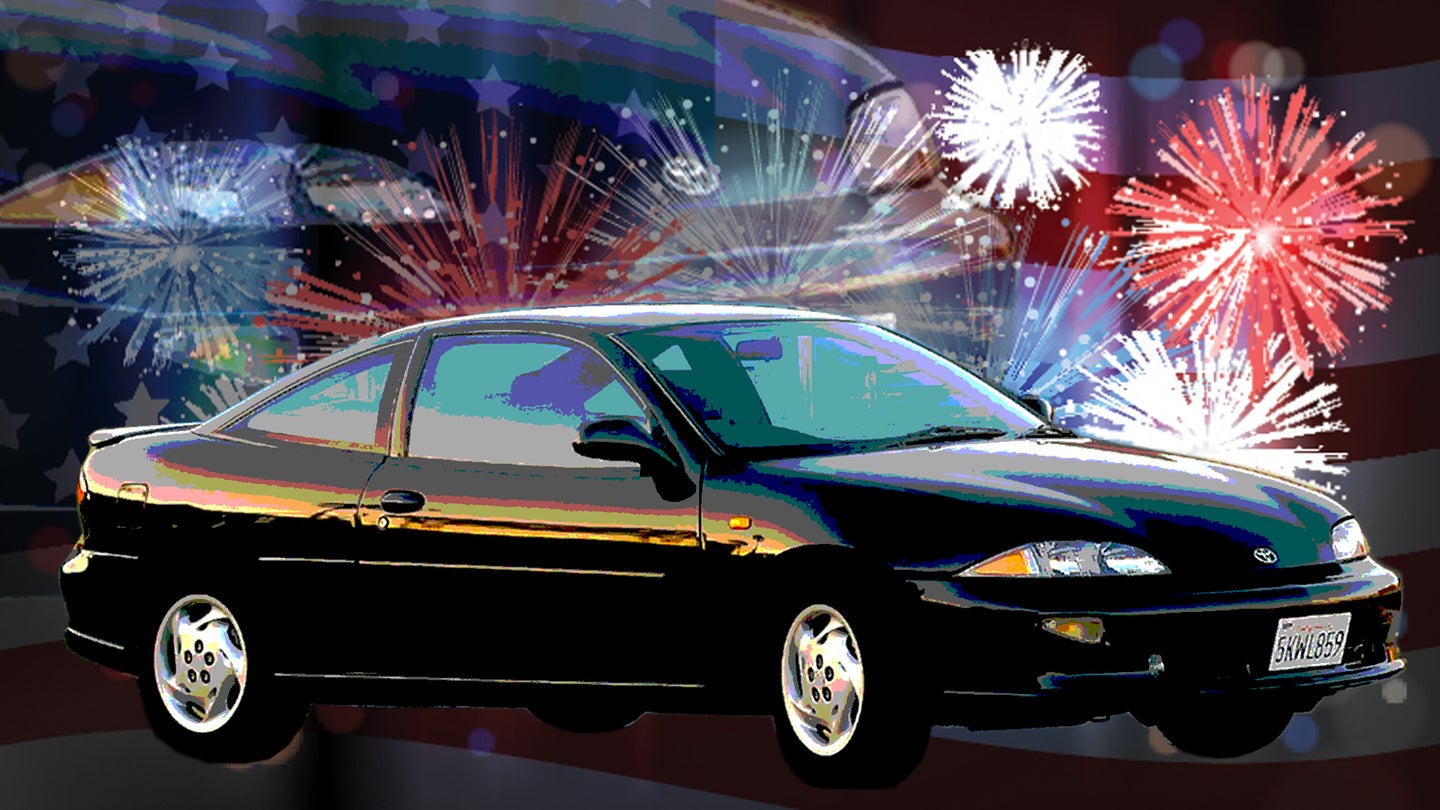 GM Tried To Sell the Chevy Cavalier in Japan With Pop Remixes of the Star-Spangled Banner
