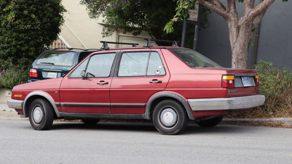 Look at This Incredibly Clean Mk2 Volkswagen Jetta Just Parked on the Street
