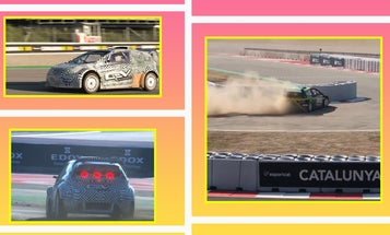 The Sights and Sounds of Electrified World Rallycross Are Quite Promising