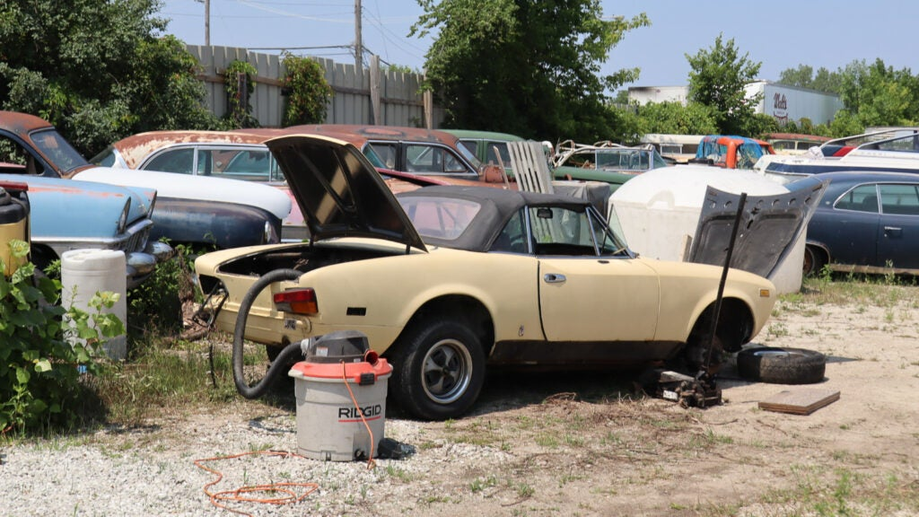 An EV From the 1970s Was Just One of Many Treasures in This Auto Recycling Plant Owner's Car Collection