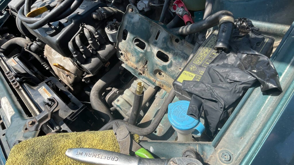 My First Trip in the $800 Daewoo Involved Building a Makeshift Power Steering Line on the Side of the Road