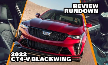 2022 Cadillac CT4-V Blackwing Reviews Are In and Guess What: People Still Love Big Power and Manual Transmissions