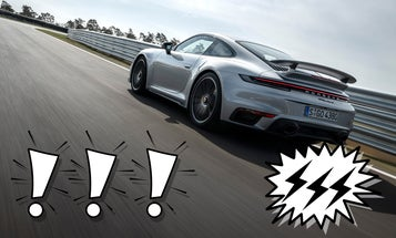 Hybrid 992 Porsche 911 Spotted At the Nürburgring, And That's A Good Thing