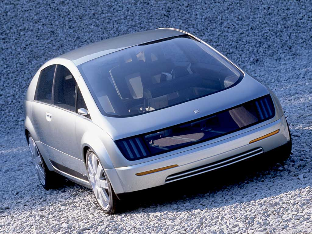 The GM Hy-Wire Concept Was 20 Years Ahead Of The EV Design Game