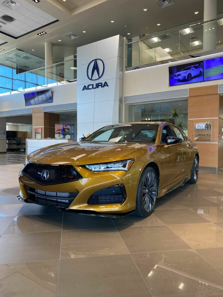 The 2021 Acura TLX Type S Is Already Getting Hit With Egregious Dealer Markup