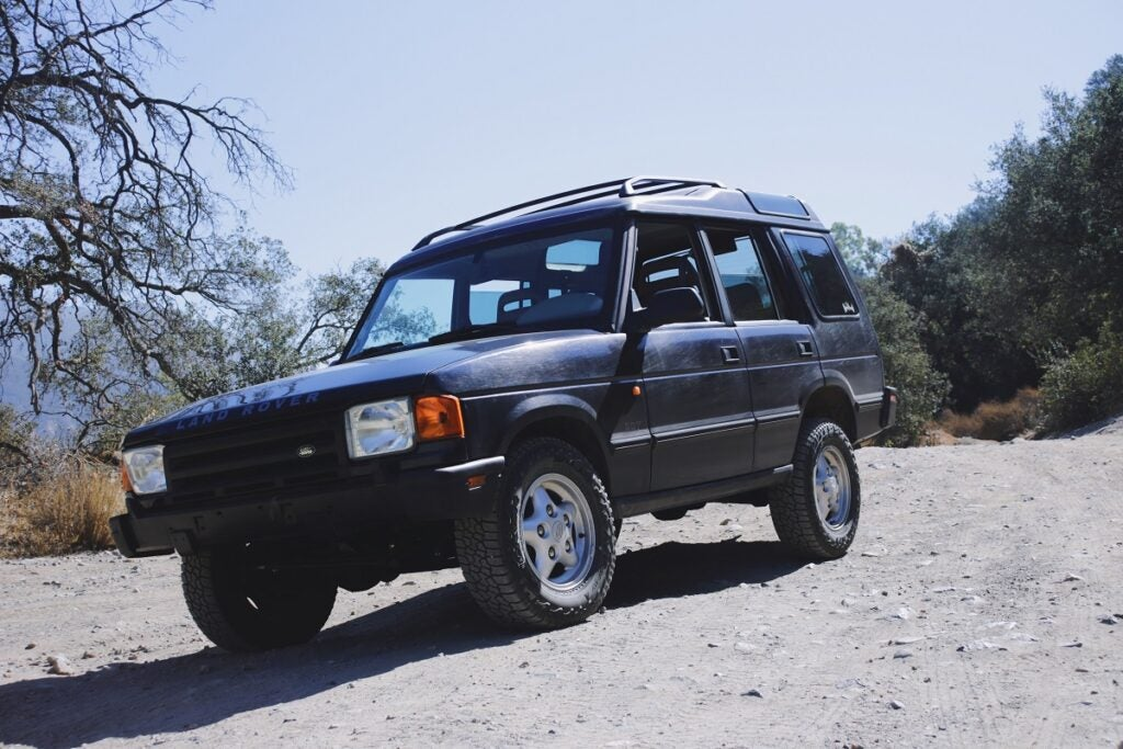 I Did a Dry Off-Road Run With My Land Rover Discovery, and Things Ended Annoyingly