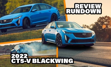 2022 Cadillac CT5-V Blackwing Reviews Are In: This Might Be the New King of Combustion