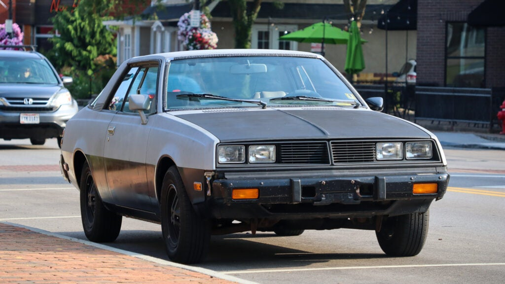 Driving a Forgotten 1980 Dodge Challenger Made Me Realize How Far Cars Have Come