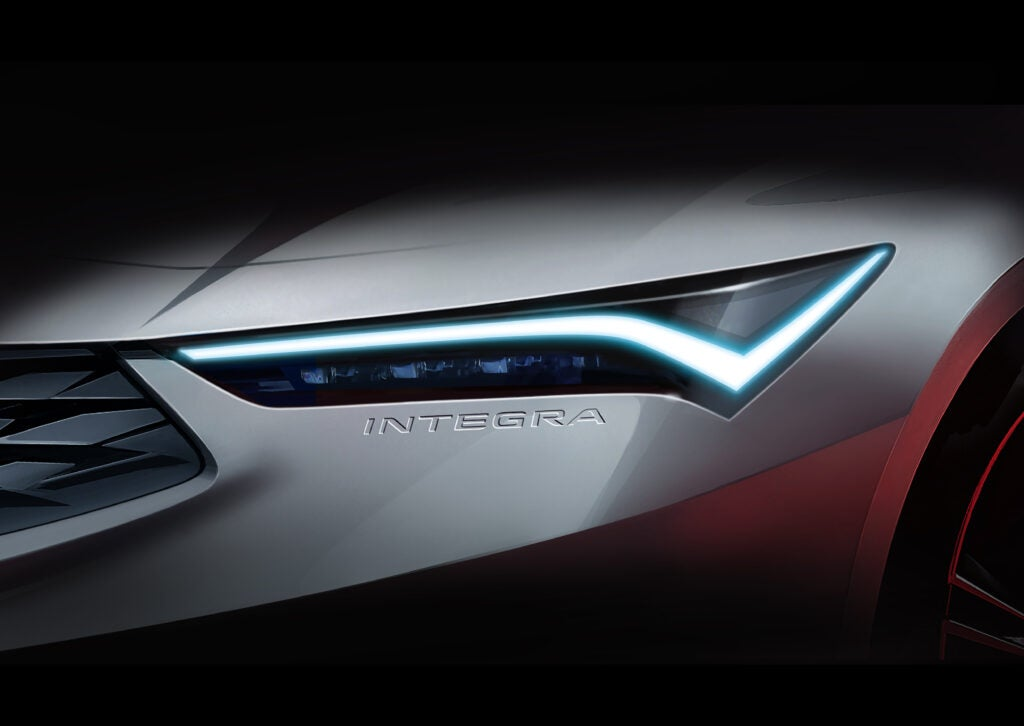 The 2022 Acura Integra (Not a Joke: New Integra Confirmed) Has a Cute Nod to the Old Car