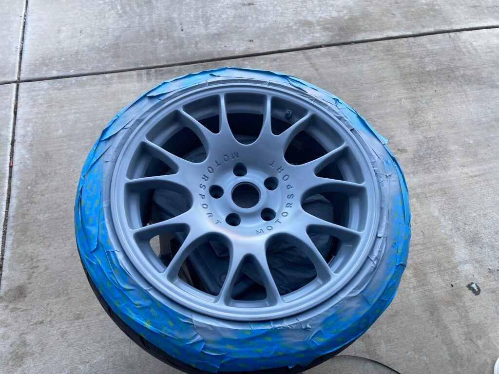 Here's What I Learned Trying To Make my Black Wheels Silver