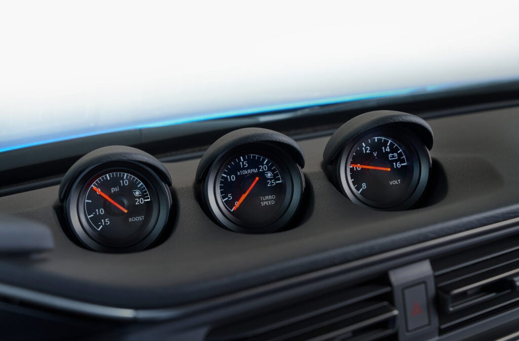 Here's What The 2023 Nissan Z's Turbo Speed Gauge Actually Tells You