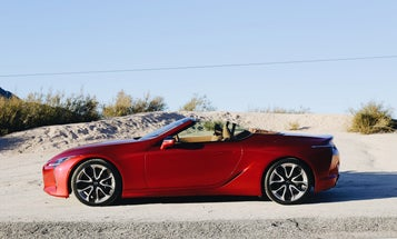 The Lexus LC 500 Convertible Is Worth Dealing With Freezing Weather For