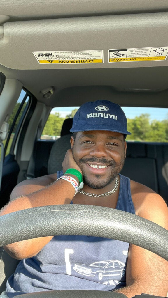 Kevin Williams Smiling in the 2021 Ridgeline
