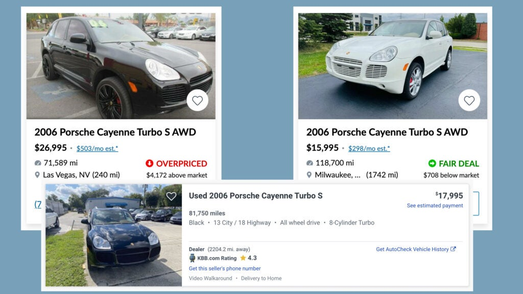 Reminder: Auction Prices Don't Indicate What Cars Are Actually Worth