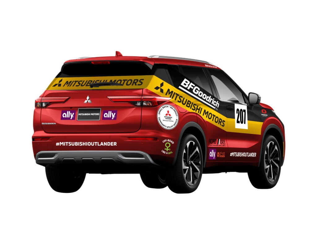 Mitsubishi's New Livery Is a Cool Tribute to an Epic Moment in Off-Road Racing