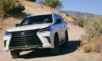 Not to Sound Like an Ad but the Lexus Land Cruiser Is an Absolute Monolith of Luxe Capability