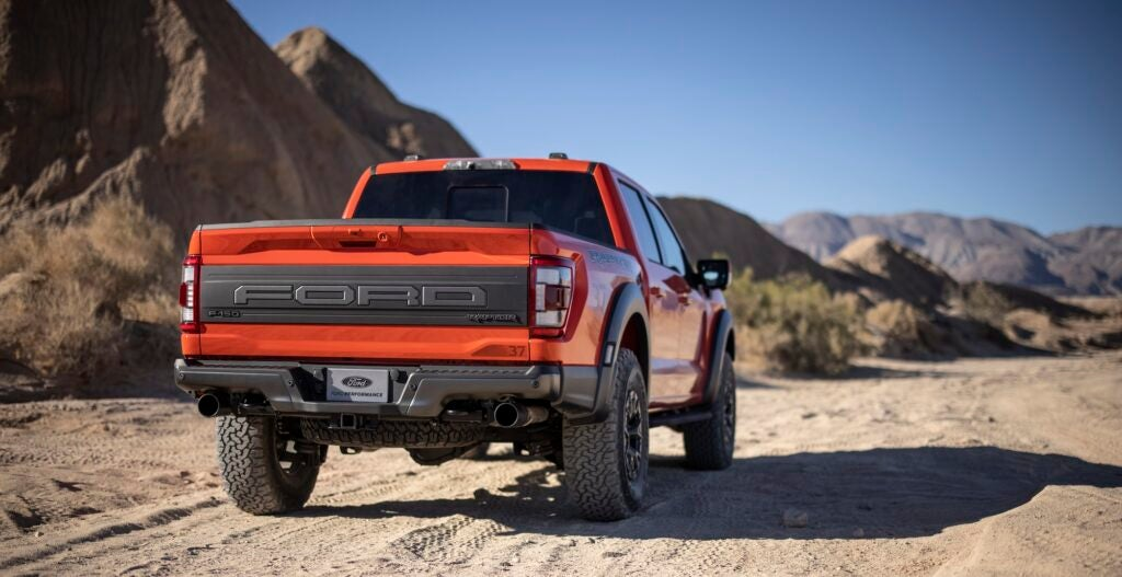 The 2021 Ford F-150 Raptor Gets Improved Flight-Worthiness and More Pulling Power