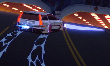 Check Out This Amazingly Animated Baby Announcement With a Cyberpunk Volvo