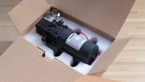 Unboxing RV water pump