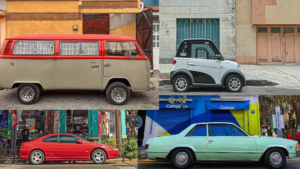 Multiple Cars in Mexico City