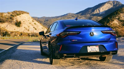 The Acura TLX A-Spec Is a Surprisingly Striking Sedan
