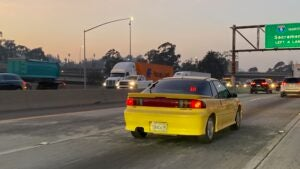 Picture of yellow Geo Storm GSi