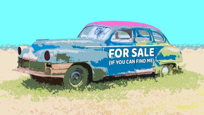 How Do You Offer To Buy a Car When Its Owner Is Hard To Track Down?
