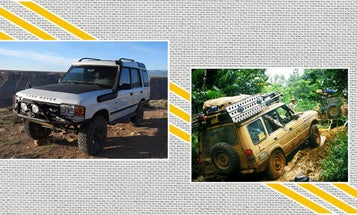 A Former Camel Trophy Driver Built His Own '92 Diesel Land Rover Discovery