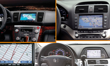 Factory Navigation Systems Looked Better in the 2000s