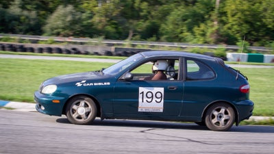 My $1,500 Daewoo Lanos Died A Hero's Death On Track