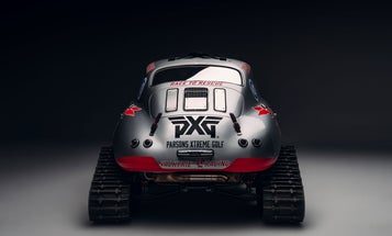 Holy Crap, It's a Porsche 356 With Tank Tracks and Skis