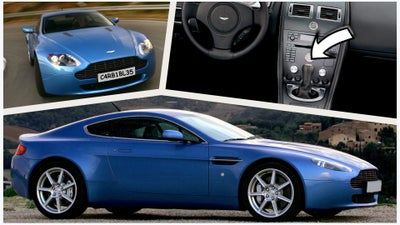The Aston Martin V8 Vantage Could Be the Exotic DIY Project You're Looking For